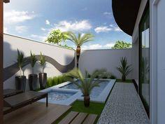 Small Backyard Pools, Backyard Patio Designs, Small Pools, Swimming Pools Backyard, Backyard Landscaping, Outdoor Garden Rooms, Pool Landscape Design, Small Pool Design, Pool Houses