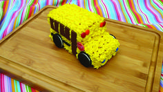 school bus cake tutorial