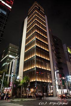 도쿄×통역 :: 긴자...도쿄에서 예쁜 야경을 보고 싶다면 이곳!