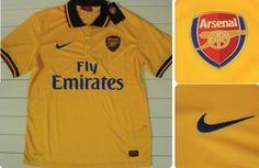Camisa reserva Arsenal 2013-2014