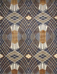 Catherine Martin's Westchester rug, part of her Deco Collection for Designer Rugs.