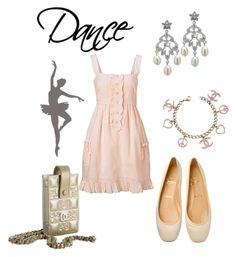 Dance by giubagnols on Polyvore featuring polyvore, fashion, style, Christian Louboutin, Chandelier, Chanel and clothing
