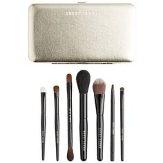 Bobbi Brown 'Old Hollywood' Luxe Travel Brush Set found on Polyvore