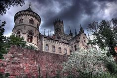 Marienburg near Hannover, Germany  - home of the Welfen family, once the rulers of England