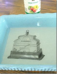 Vinegar Bath Makes Printer Ink Waterproof