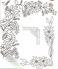 Dibujos de guardas para esquinas para pintar - Imagui