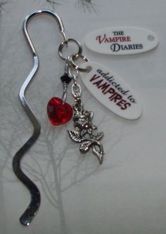 The Vampire Diaries ADDICTED TO VAMPIRES Mini by cindesign on Etsy, $7.95