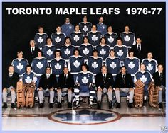 search toronto maple leafs photos | 1976–77 Toronto Maple Leafs · NHL