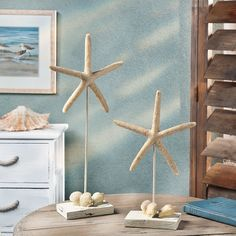Could be made much cheaper and better Starfish Table Décor - OrientalTrading.com