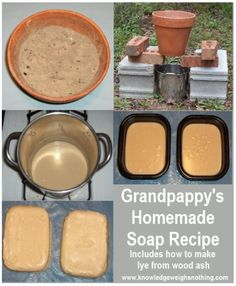 Grandpappys Homemade Soap Recipe (Made From 3 Natural Ingredients)