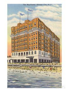 Mayflower Hotel, Atlantic City, New Jersey Prints at AllPosters.com