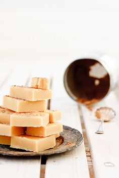 vanilla milk fudge