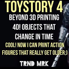 4D printing? Make 3D objects that can change in time! It's already in the making! How? Don't ask the marketer? The marketer is more the practical applications. 3D printing is already changing our perspective on productdevelopment prototyping spare parts and many more how about the 4D printer???;) by trnd_mrk