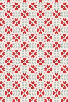 geometric floral (Caroline Bourles--mytextiledesign)