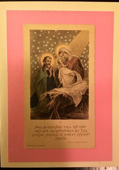 The Divine Hands of Infant Jesus by HandCutGreetings on Etsy https://www.etsy.com/listing/247993674/the-divine-hands-of-infant-jesus