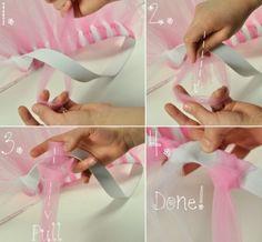 DIY Tu-tu...easy peasy!
