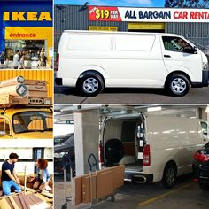 Great low cost solutions to get your flat pack furniture home stress free. Ask about our affordable vans for hire. Budget Car Rental, Croydon, Cheap Cars, Stress Free, Melbourne, Commercial, Vans, Flat, Furniture