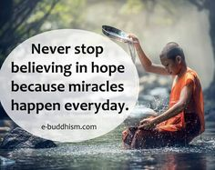 Miracles will happen