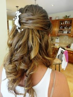 wedding hairstyle for long curly hair half up half down tagged intended for wedding hairstyles curly hair half up