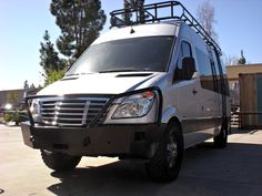 Sprinter Roof Rack with Voyager Style