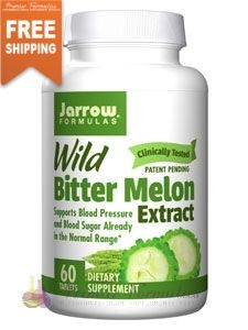 Wild Bitter Melon Extract 750 mg 60 tabs