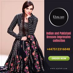 We offer you the most trendy casual and formal designer collection of Indian and Pakistani dresses