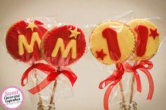 Sweet Cucas and Cupcakes by Rosângela Rolim: Bolachas decoradas Tema Circo