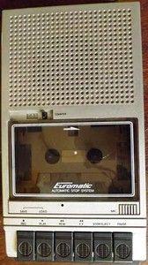 Magnétophone à Cassette Euromatic Automatic Stop System (Années 80)