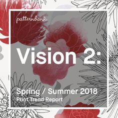Hot on the heels of Vision 1: we're proud to announce the release of Vision 2: our new bitesize print trend instalments for Spring / Summer 2018.