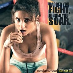Parineeti Chopra HOT Workout Body Photoshoot