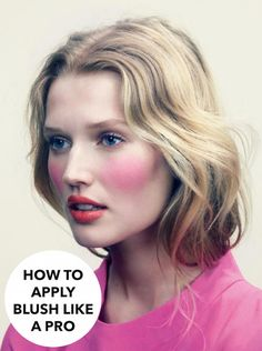 How to Apply Blusher Like a Pro - Coco's Tea Party