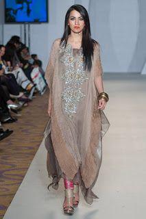 Pakistan Designer Clothes: Pakistan Fashion Week 3 London Collection 2012 By Obaid Sheikh