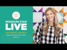 Missouri Star Live Msqc Tutorials, Quilting Tutorials, Quilting Tips, Panel Quilts, Quilt Blocks, Star Quilts, Self Binding Baby Blanket, Coolest Cooler, Apron Tutorial