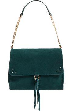 Sole Society Kellen Suede Shoulder Bag