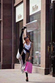 shopping yoga