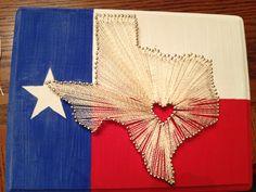 Texas string art!