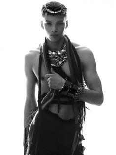 little-ger:    Model: Louis Mayhew | Trendland 'Underground King' | PH: Sebastian Lucrecio ST: Soukena Roussi