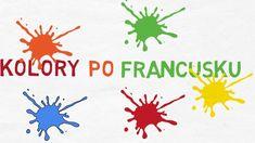 Nauka Języka Francuskiego - Podstawowe Kolory France, Logos, Logo, French
