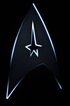 Star Trek Original TV Series Plate Name and Command Logo Metal Enamel Pin UNUSED