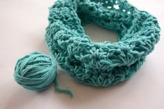 Crochet Scarf toddler girl infinity baby scarf by BambinoStore
