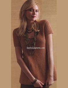 Make A Statement Tunic - Crochet