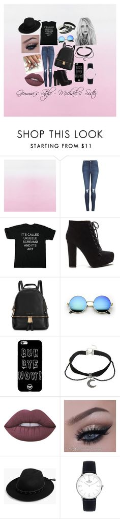 """Gemma's Style - Michael's Sister"" by socialrejectss on Polyvore featuring Cheap Monday, Michael Kors, Lime Crime and Boohoo"