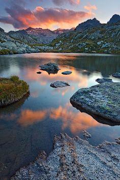 Landscape / Nature, Últimas luces sobre los Besiberris, P.N Aigüestortes i Estany de Sant Maurici, Lérida