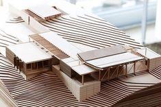 Hekerua Bay House by Herbst Architects Hekerua Bay House by Herbst Architects Maquette Architecture, Architecture Model Making, Architecture Portfolio, Concept Architecture, School Architecture, Interior Architecture, Architecture Panel, Drawing Architecture, Architecture Diagrams