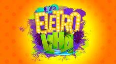 BLOCO ELETRO ILHA on Behance Free Slots Casino, Neon Logo, Social Media Banner, Logo Food, Design Show, Motion Graphics, Banners, Fonts, Typography