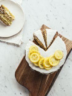 Lemony Zucchini Cake