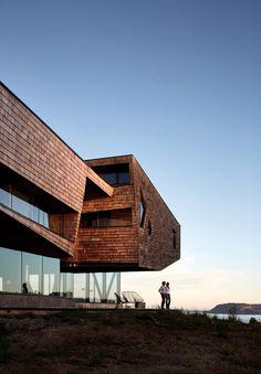 Mobil Arquitectos designs Tierra Chiloe hotel for exposed Chilean island