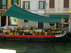 Another style for supermarket - Venice, Italy by Briela Gabriella