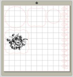 This method of printing and cutting stamps works for any photo, digital element (like the kind you download or save) or Photoshop brush. The files can be an SVG, JPG, PNG or ABR (digital brush), the steps are the same. *Note I am using the designer edition of Silhouette Studio.