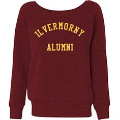 Magic Ilvermorny Alumni Ladies Triblend Wideneck Sweatshirt -- Be sure to check out this awesome product.(This is an Amazon affiliate link and I receive a commission for the sales)